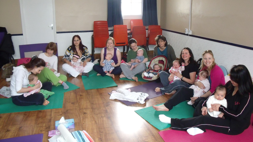 Post Natal Yoga And Baby Massage Courses In North London Enfield And N21 With Jackie Lee