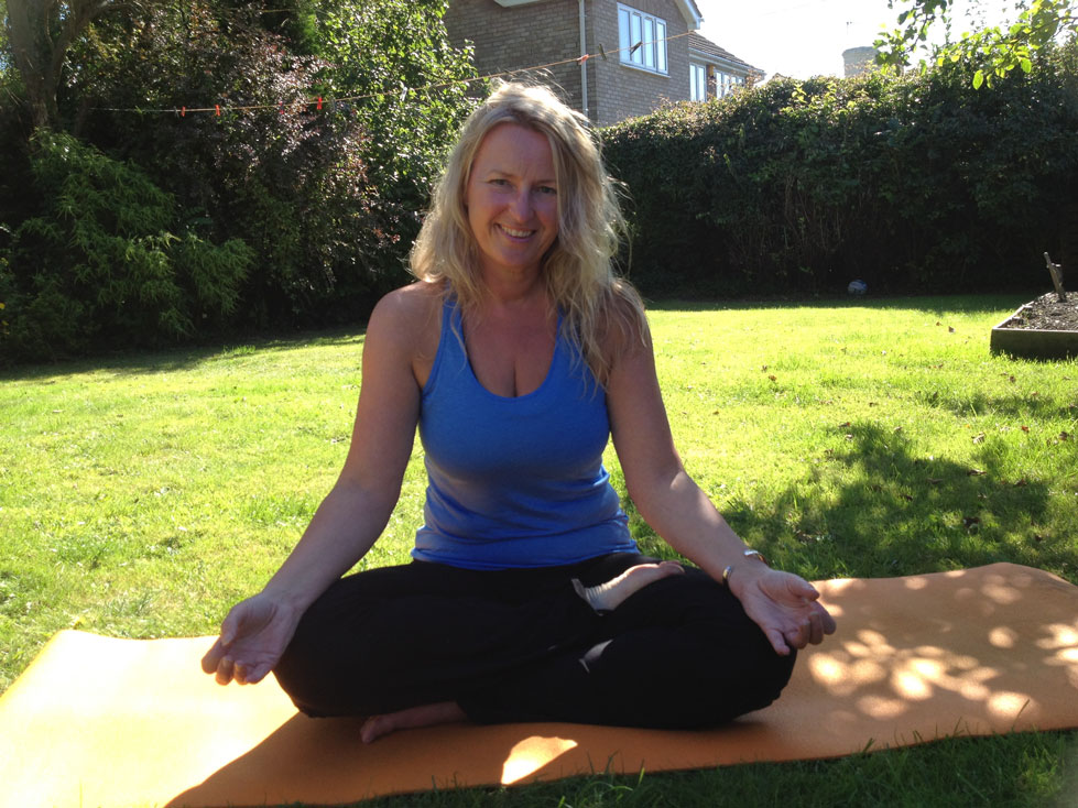Online yoga with Sally
