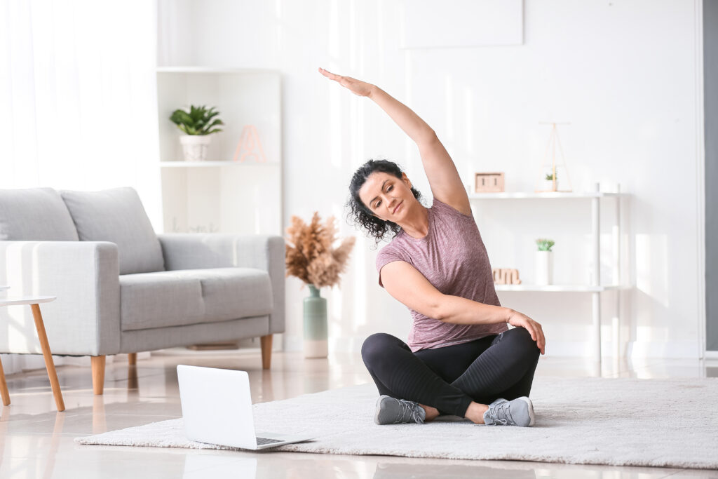 Online Yoga at Home